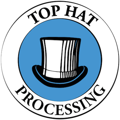 Top Hat Processing Logo